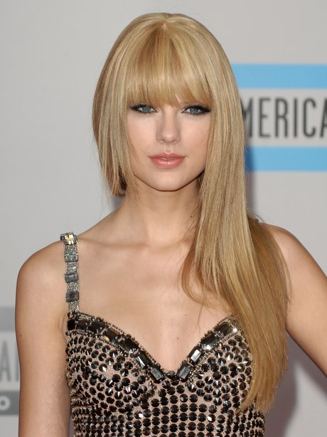 Taylor Swift at the American Music Awards 2012.