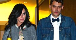 Katy Perry and John Mayer celebrate his birthday