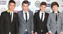 Union J arrive the Cosmopolitan Ultimate Woman of