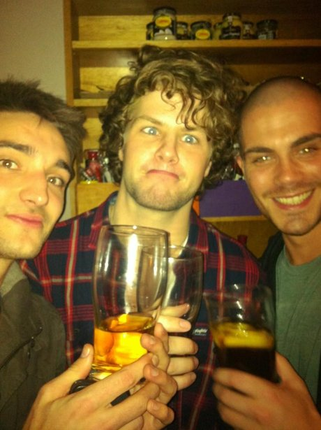 The Wanted celebrate single success