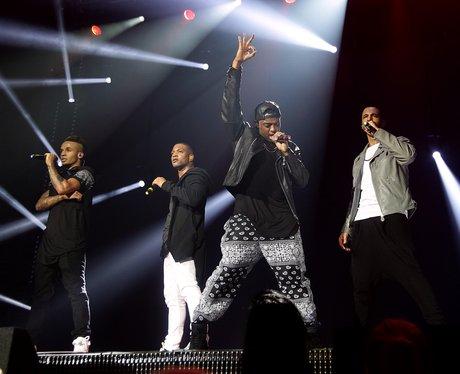 JLS play the Capital FM Jingle Bell Ball 2012