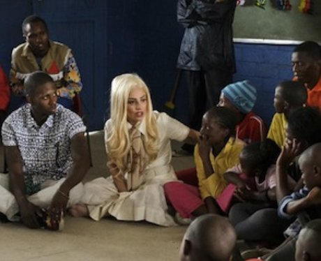 Lady Gaga working with UNICEF from Twitter