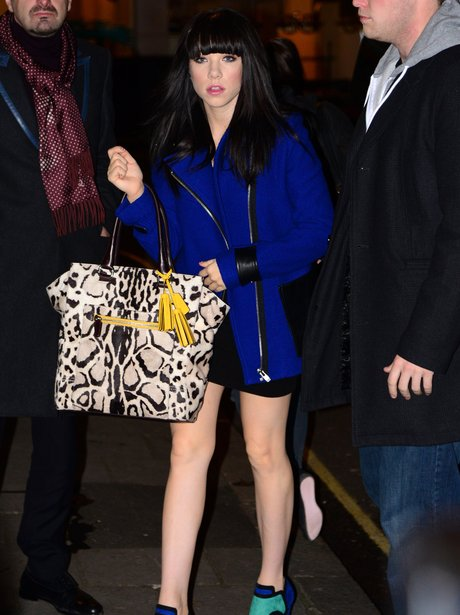 Carly Rae Jepsen out in London