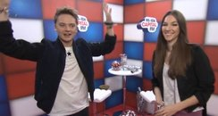 Conor Maynard's Jingle Bell Ball magic trick
