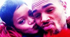 Chris Brown and Rihanna on twitter