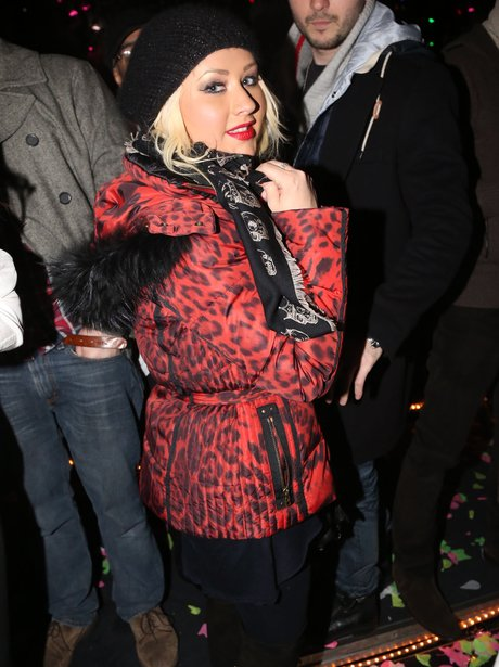 Christina Aguilera On New Year