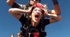 Rita Ora Goes Skydiving In Dubai
