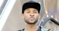 Usher at the airport