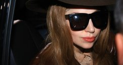 Lady Gaga wearing sunglasses