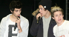One Direction tour rehearsals