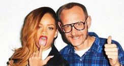Rihanna and Terry Richardson