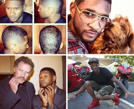 Usher's official Instagram account