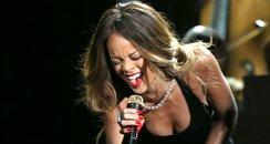 Rihanna live at the 2013 Grammy Awards