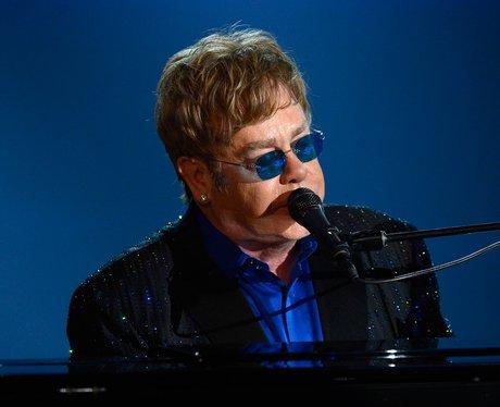 Sir Elton John live at the 2013 Grammy Awards
