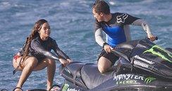 Rihanna Jet Skiing in Hawaii