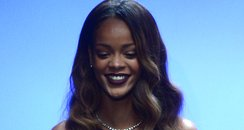 Rihanna River Island Catwalk London Fashion Week 2
