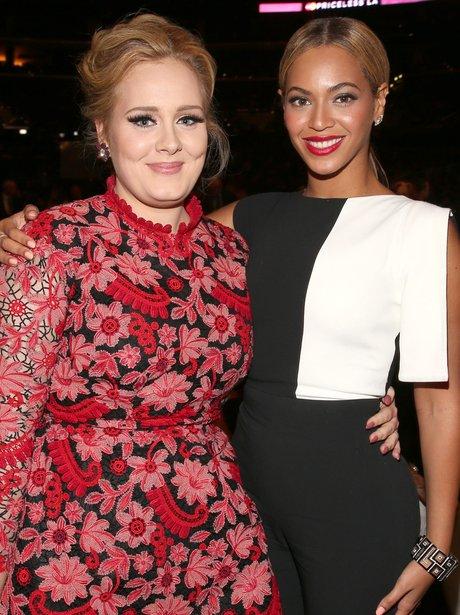 Adele and Beyonce 2013