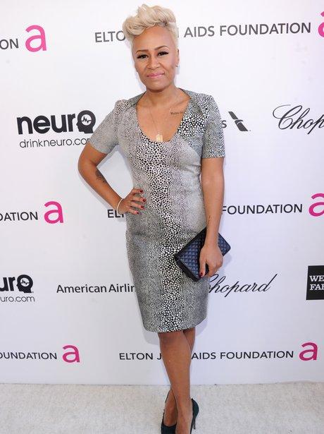 Emeli Sande at Elton John's post-Oscars party