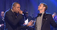 Justin Timberlake and Jay-Z Saturday Night Live
