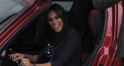 Rochelle Wiseman In Marvin's Car