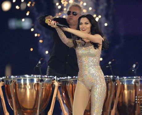 jessie j and Roger taylor from Queen