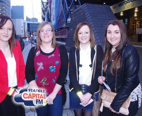 Olly Murs fans in Cardiff