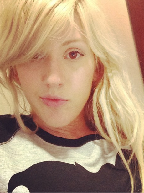 Ellie Goulding shares a new selfie on Instragram