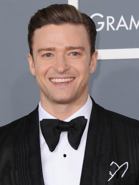 Justin Timberlake smiling with Justin Timberlake Smiling