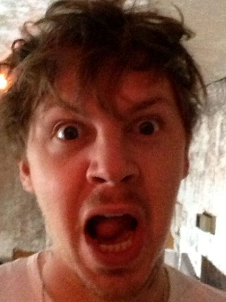 Professor Green gets angry while showing off his 'hat hair'