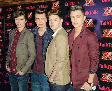 Union J at an event for The X Factor UK