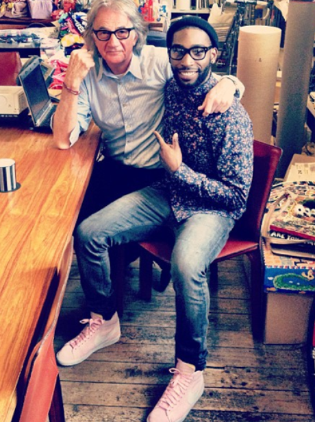 Tinie Tempah and Paul Smith