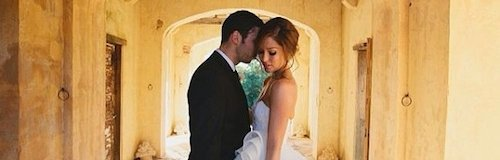 Example's wedding from Instagram
