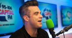 Robbie Williams Backstage At The Summertime Ball 2