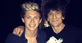 Niall Horan and Ronnie Wood