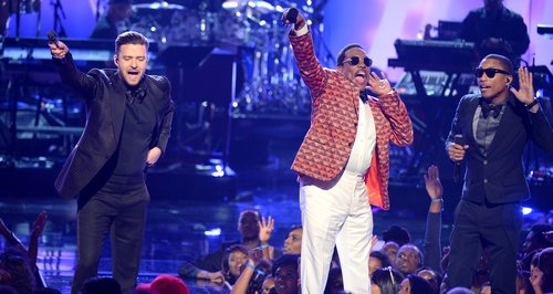 Justin Timberlake and Pharrell BET Awards 2013