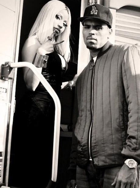 Nicki Minaj and Chris Brown