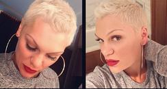Jessie J Quiff New Hair Instagram