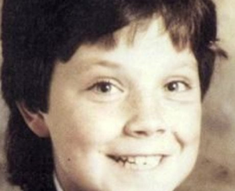 Robbie Williams as a young boy on instagram