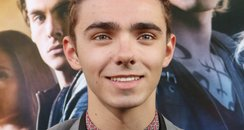 Nathan Sykes on the red carpet