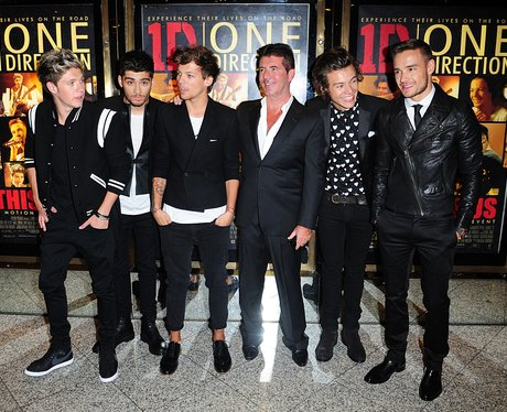 One Direction film premiere
