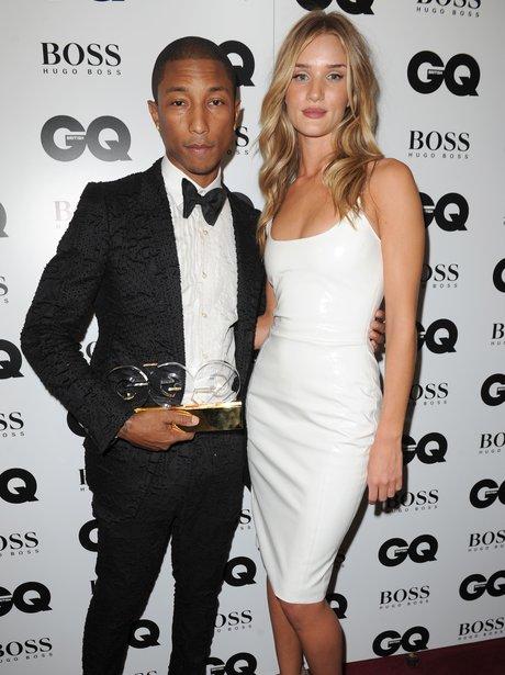 Pharrell and Rosie Huntington-Whiteley