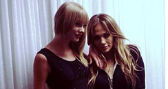 Taylor Swift and Jennifer Lopez