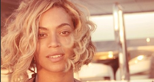 Beyonce Make-Up Free Instagram