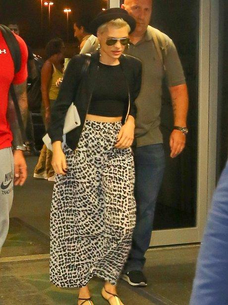 Jessie J leaving Rio de Janeiro