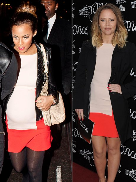 Who Wore It Best: Rochelle Wiseman and Kimberley W