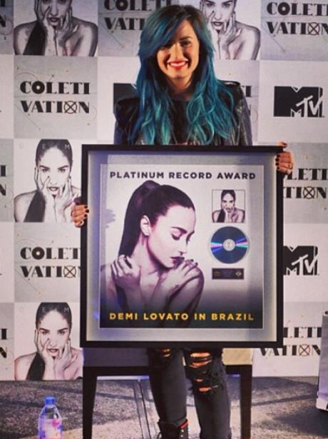 Demi Lovato Platinum Album