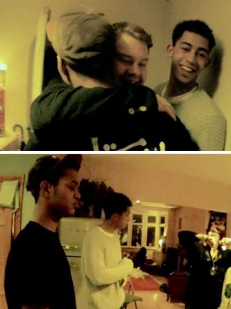 Rizzle Kicks in their 'Mama Do The Hump' music video