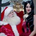 Katy Perry Santa