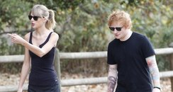 Taylor Swift and Ed Sheeran Hiking