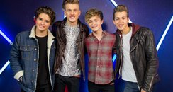 The Vamps Jingle Bell Ball 2013 backstage
